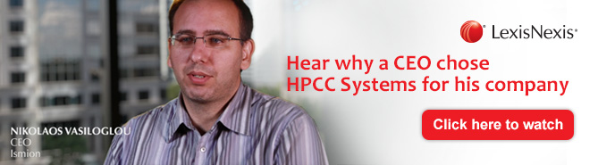 HPCC Systems Case Study for Ismion