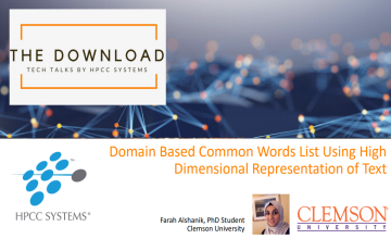 Domain Based Common Words List Using High Dimensional Representation of Words