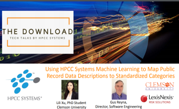 Tech Talk 17: Using HPCC Systems Machine Learning to Map Public Record Data Descriptions to Standardized Categories