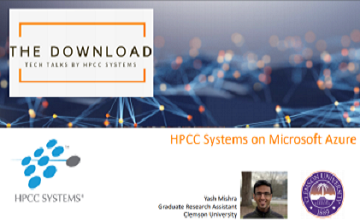 Tech Talk 31: Yash Mishra - Deploying HPCC Systems on Microsoft Azure