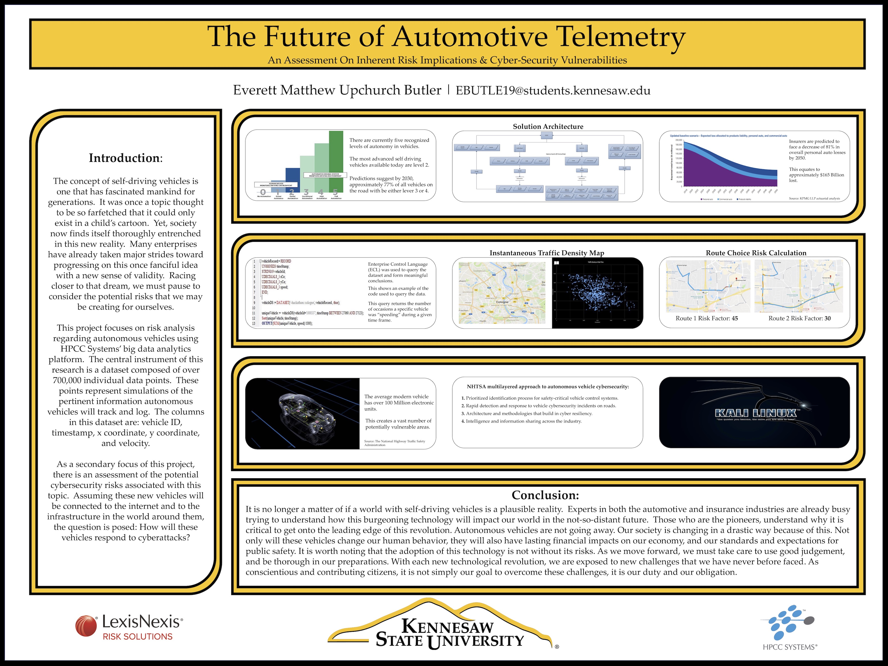 Everett Matthew Upchurch Butler - The future of automotive technology