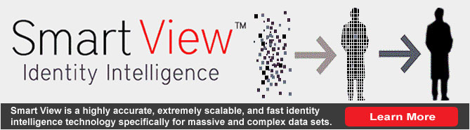 Smart View - highly accurate, extremely scalable, & fast identity intelligence